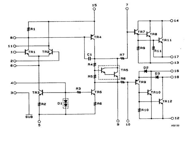 Схема включения м/с STK 4048II