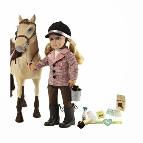 our generation riding outfit horse
