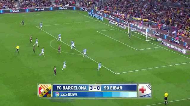 Barcelona vs Eibar Spain La Liga 2015
