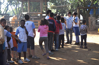 """Spa Med recebe as crianças da ONG """"Oficina Céu Azul"""""""