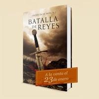 Batalla de Reyes (La Profecía de Merlín 1) se pone hoy a la venta