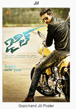 Jil (2015) Telugu Full Movie Watch Online and Free Download in HD