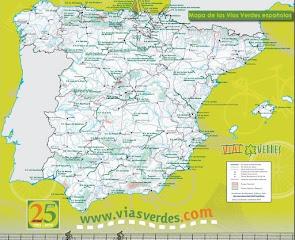 Vías Verdes españolas 2018