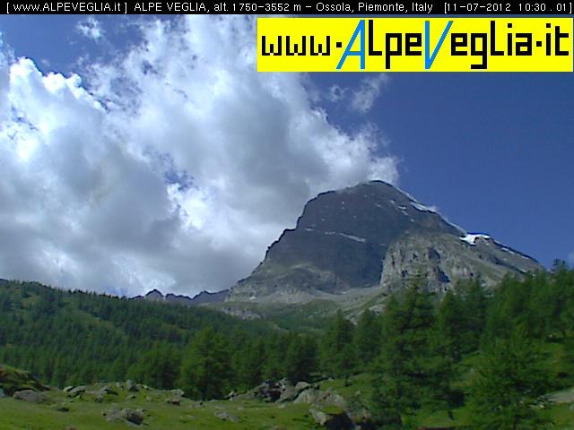 Webcam Alpe Veglia