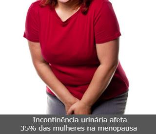 Incontinência urinária afeta 35% das mulheres na menopausa