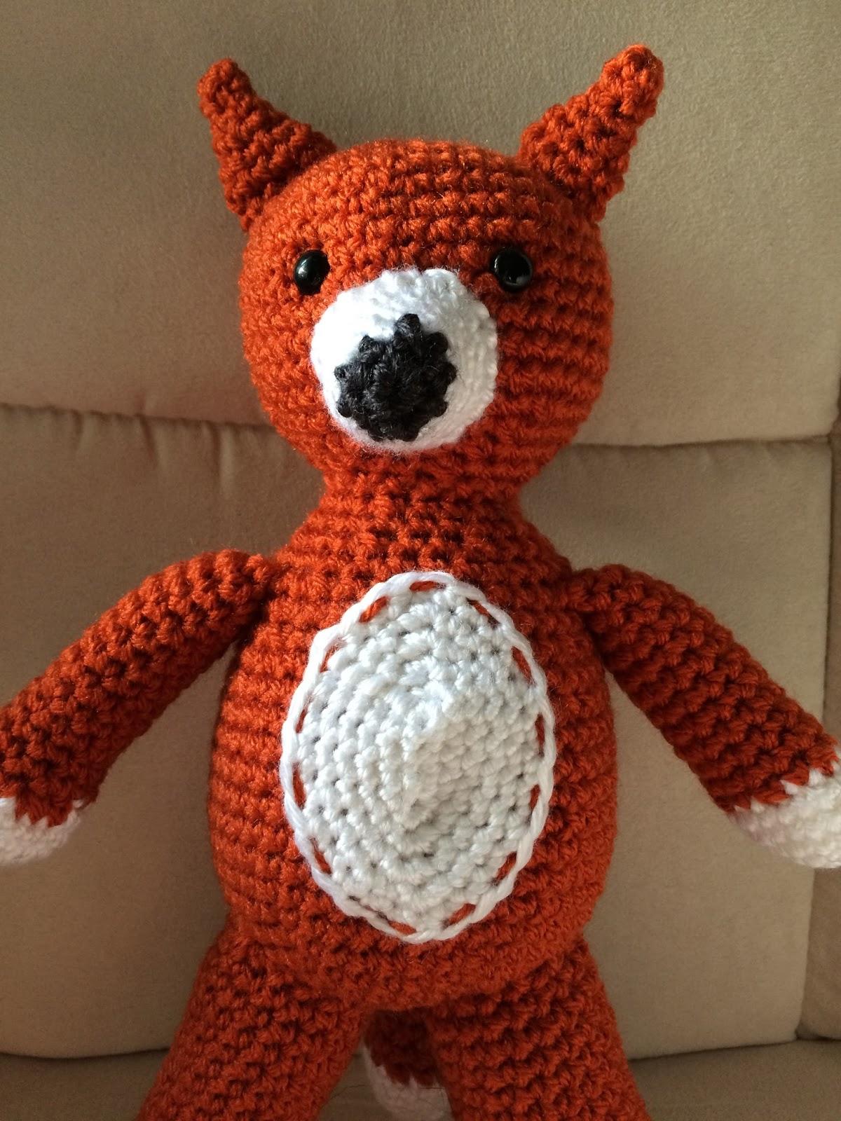 Olena's Crafts: Fox Amigurumi Design - Free crochet pattern