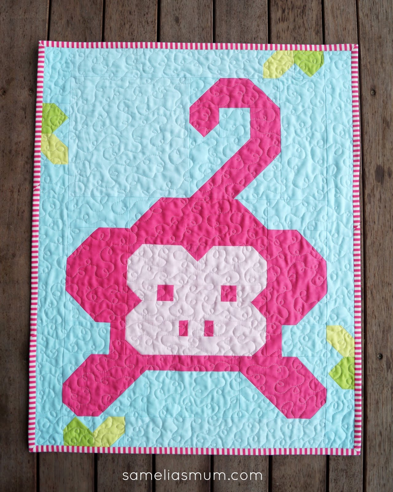 Samelia's Mum: Monkey Business Quilt : monkey quilt pattern - Adamdwight.com