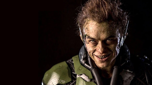 dane dehaan as green goblin / harry osborn in the amazing spider man 2