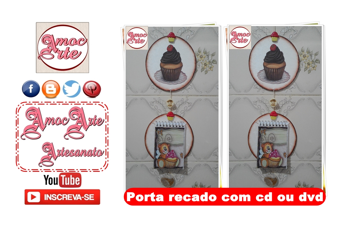 cd ou dvd /porta recado