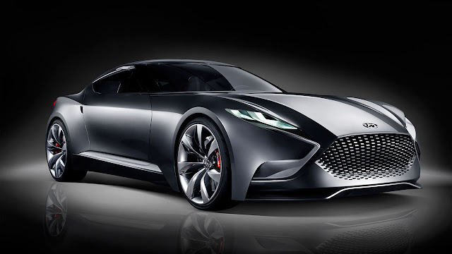 Hyundai luxury sports coupe concept HND-9