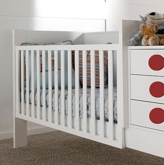 Cunas para habitaciones con poco espacio - Habitaciones infantiles dobles poco espacio ...