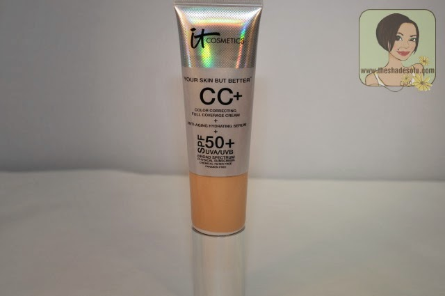 IT Cosmetics CC+ Color Correcting Full Coverage Cream