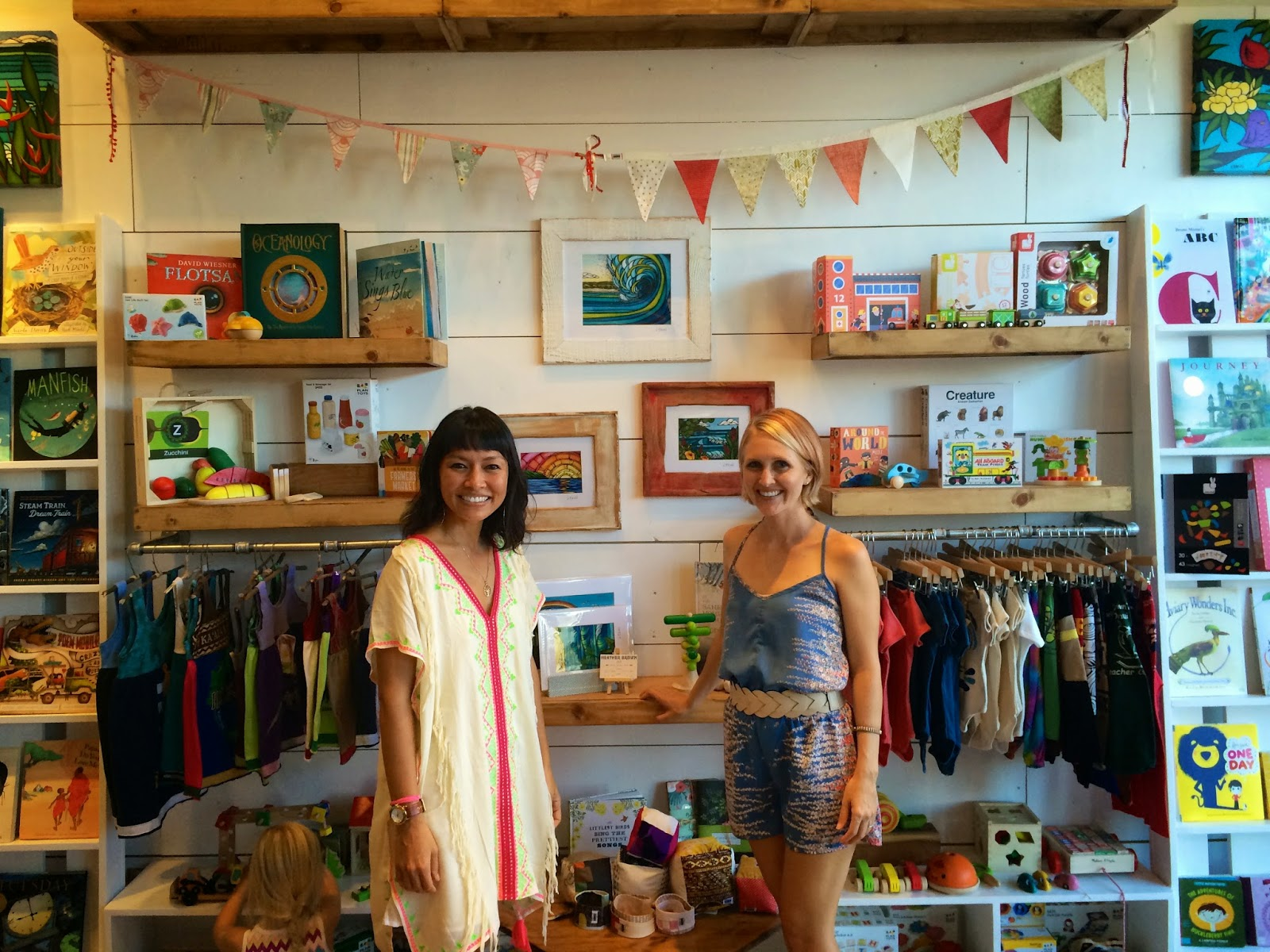 Maui Children's Bookstore Wailuku Kids Books Ivy and Company Where to Shop Amanda Robson & Rebecca Owen