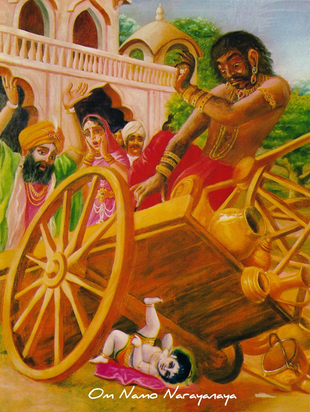 கண்ணன் கதைகள் (30) - சகடாசுர வதம்,கண்ணன் கதைகள், குருவாயூரப்பன் கதைகள்,