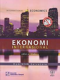toko buku rahma: buku EKONOMI INTERNASIONAL EDISI 9 BUKU 2, pengarang dominick salvatore, penerbit salemba empat