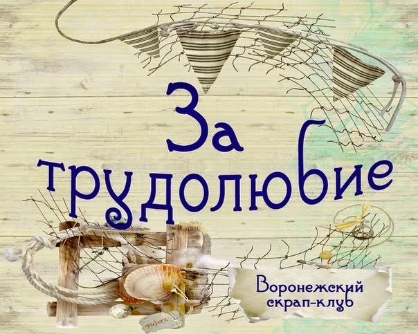 Воронежский скрап-клуб