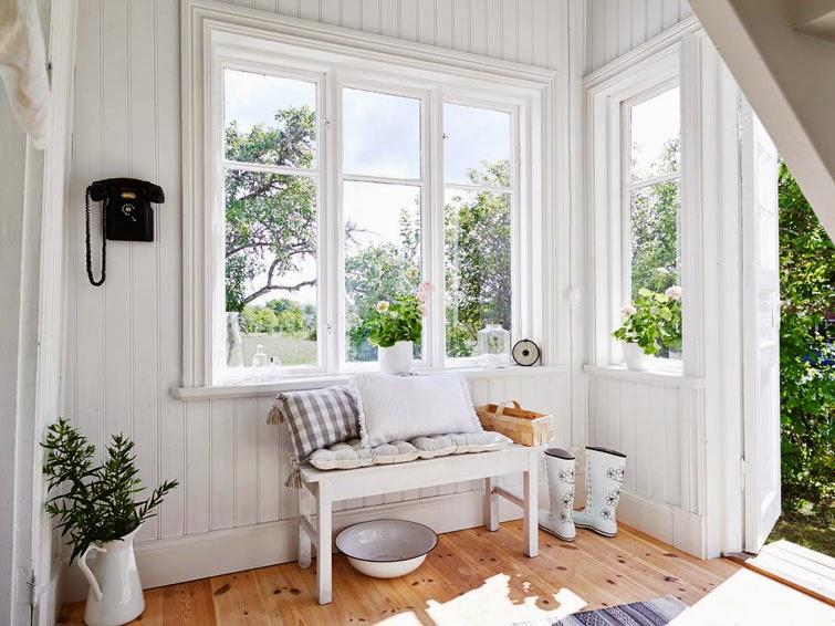 Apartamentos Decoracion Nordica ~   MUCHAS VELAS Una casa en el campo, entre lo #r?stico y lo #n?rdico
