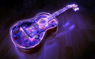 Tema Windows8 Lighted Guitar Download Tema WIndows 8 Keren Free Download