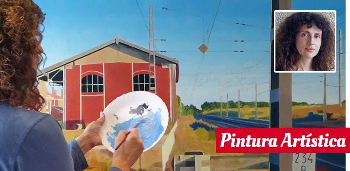 CURSO ONLINE EN DIRECTO PINTURA ARTÍSTICA