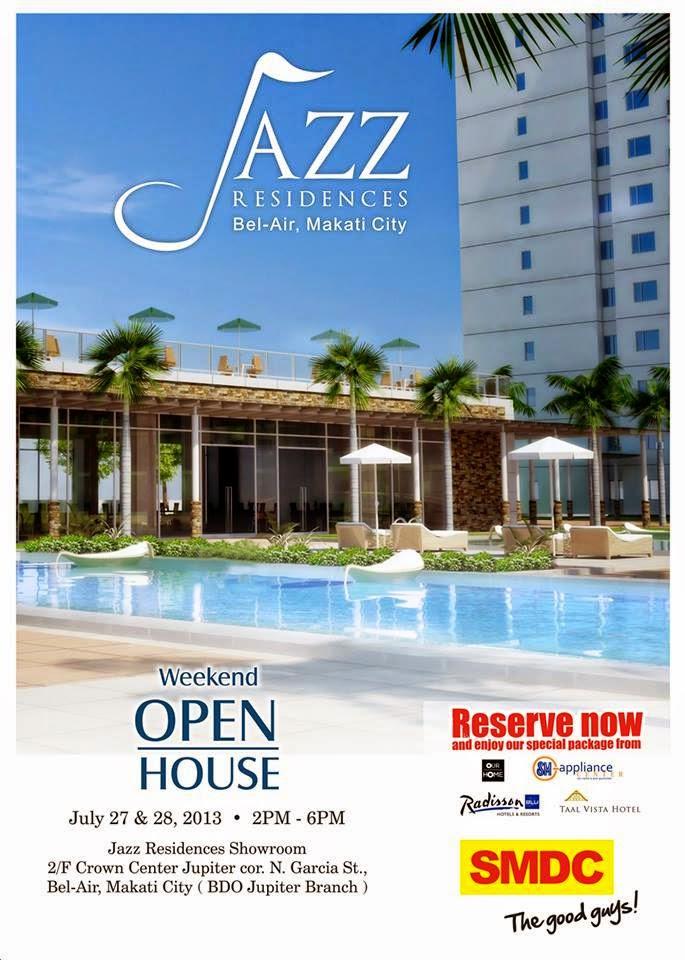 Jazz Residences Weekend Open House