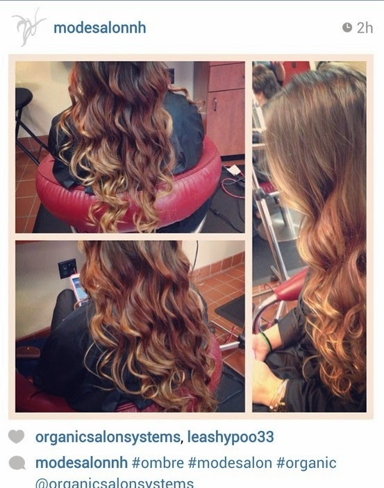Gorgeous Summer Hair Brown Ombre Hair Color From Emily at Mode Salon with Organic Color Systems!