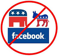 Facebook and Politics don't mix.