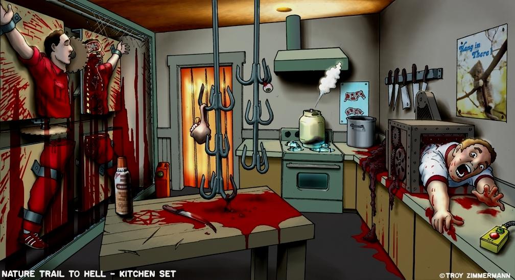 Human meat grinder images galleries for Kitchen set 3d warehouse