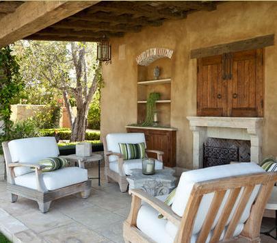 Fotos de terrazas terrazas y jardines fotos de terrazas for Jardines exteriores de casas de campo