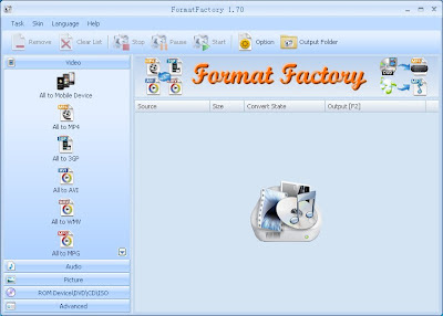 Free download Format factory, format factory download, free format factory