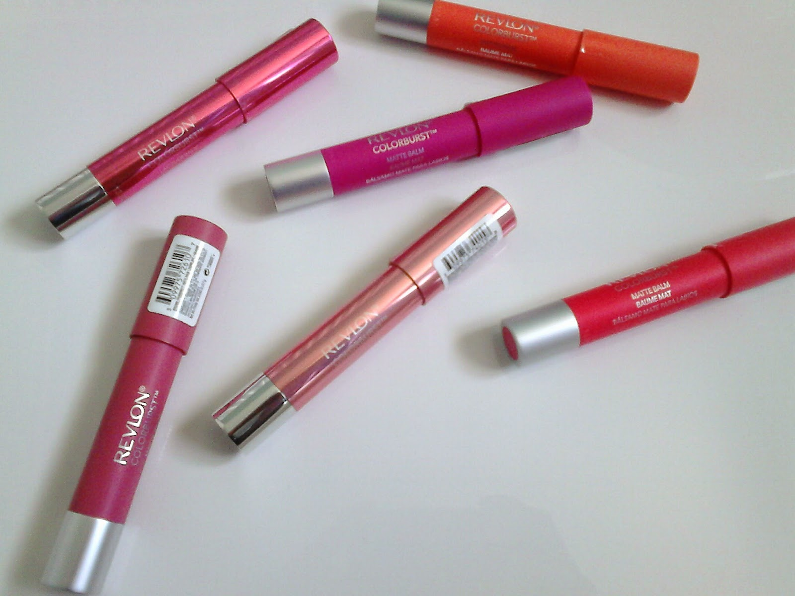 Revlon Colorburst Matte and Lacquer Balms