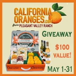 California Oranges Giveaway Event