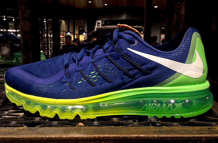 Nike Air Max 2015 Blue Green