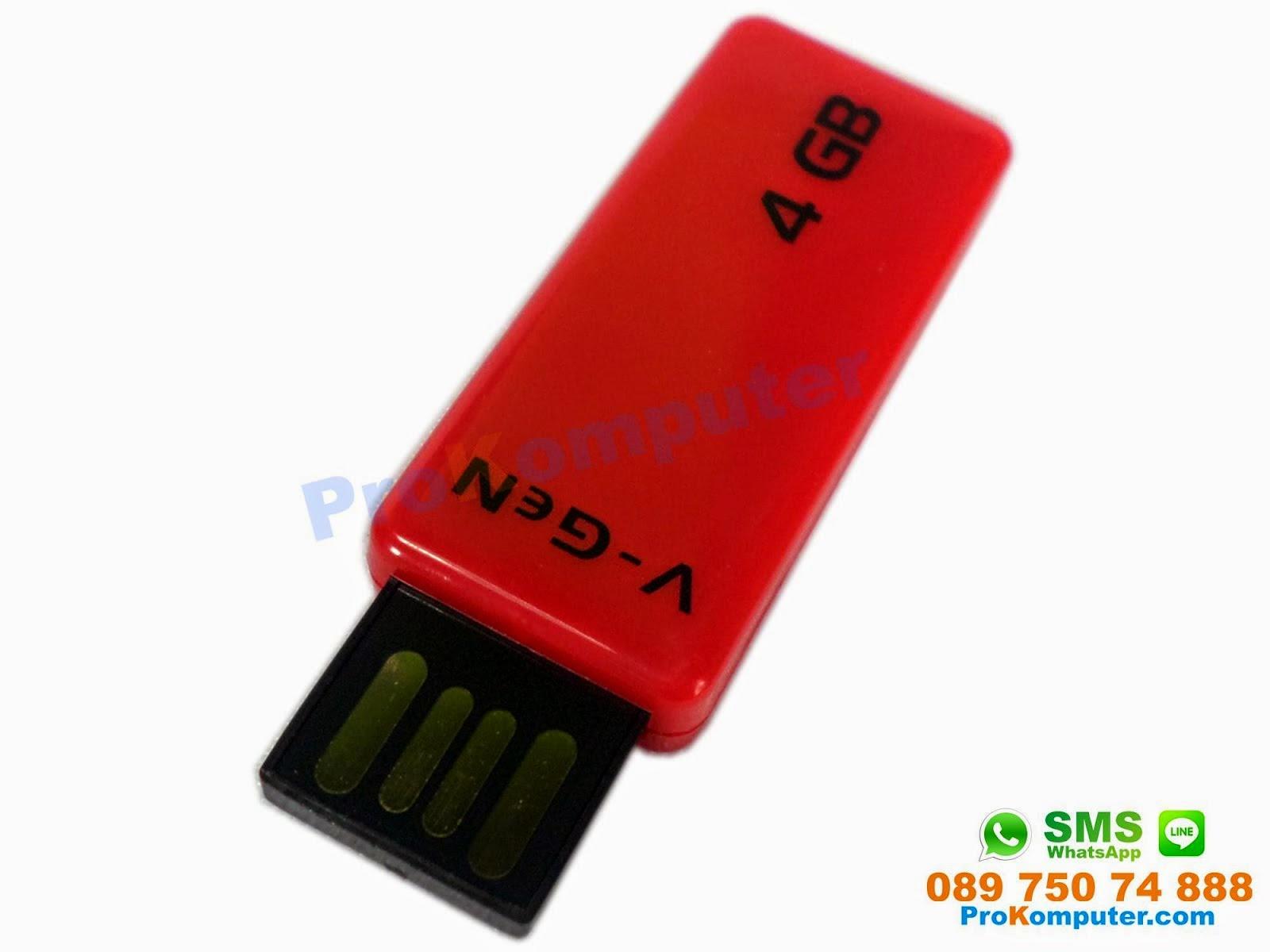 Prokomputer Flashdisk Vgen Usb Flash Drive Ballistic 4gb Idm331x Swufz Ddr 3 2gb 10600