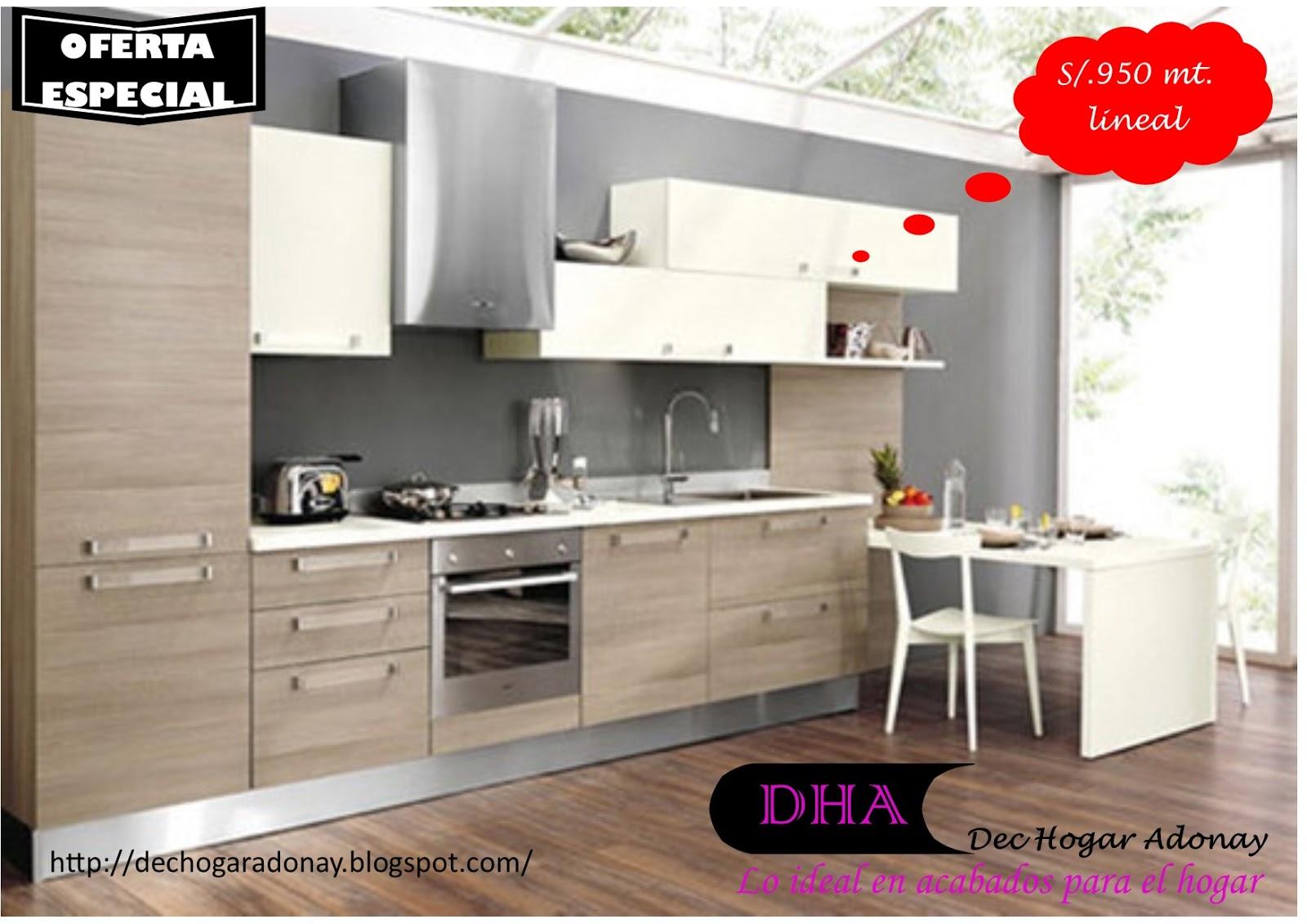 Muebles de melamine y madera en general mueble de cocina - Muebles comodas modernas ...