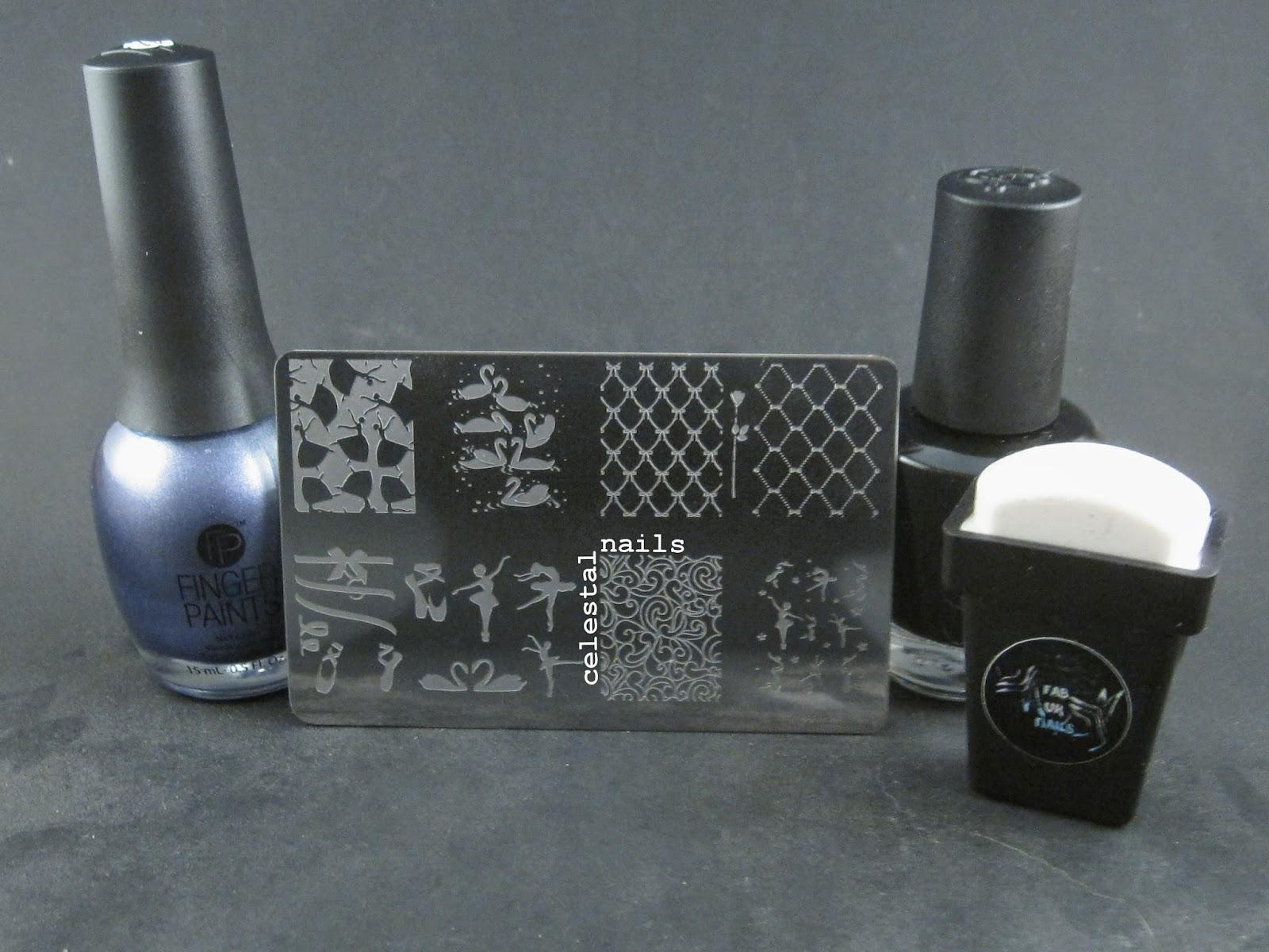Fab Ur Nails Rectangular Stamper