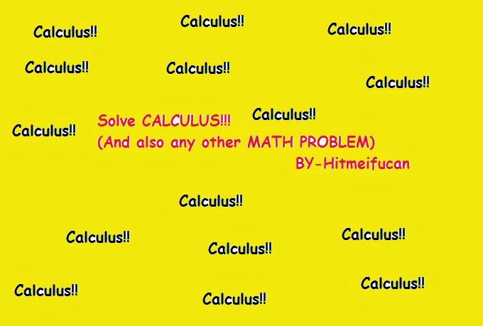 Solve Calc Problems