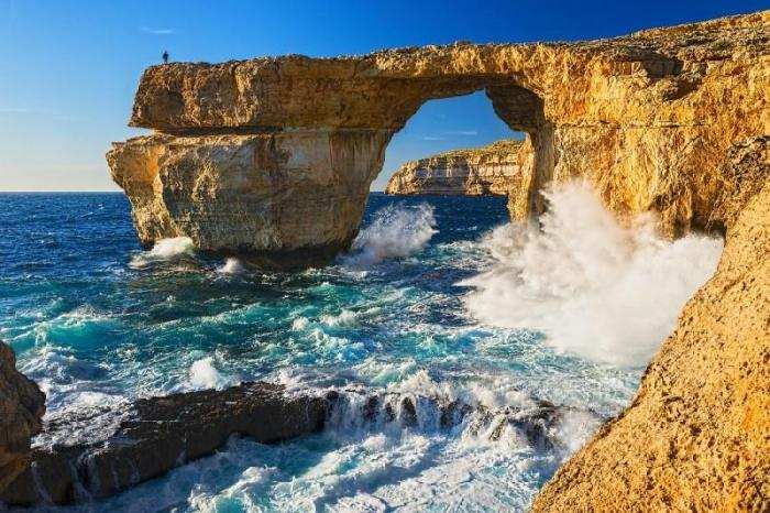 The Azure Window, Pulau Gozo, Malta