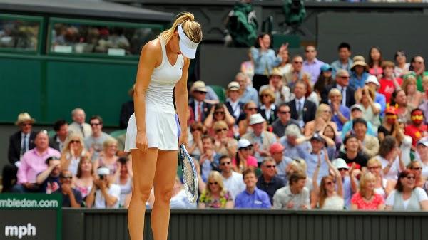 Sharapova țipata de la Wimbledon