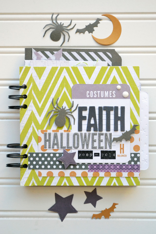 Halloween Costumes Mini Album by Aly Dosdall #halloween #minialbum