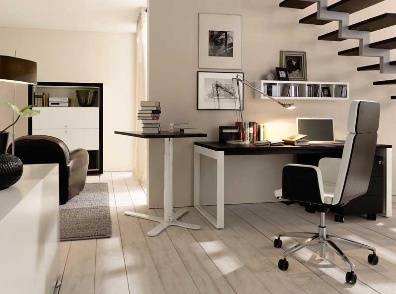 Id es cr atives de bureau domicile d cor de maison d coration chambre - Idee decoration bureau ...