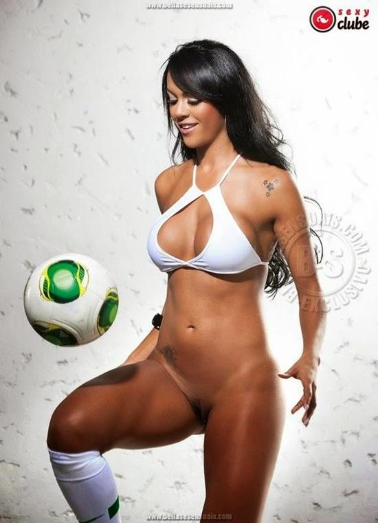 Aline Bernardes - Musa da Copa - Foto 11