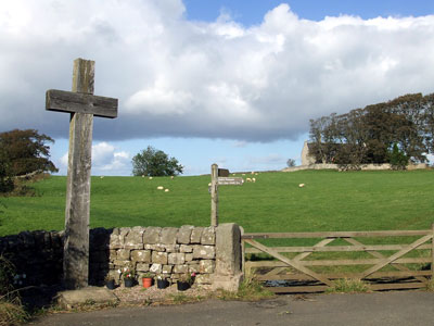 Heavenfield, battlefield, Northumbria