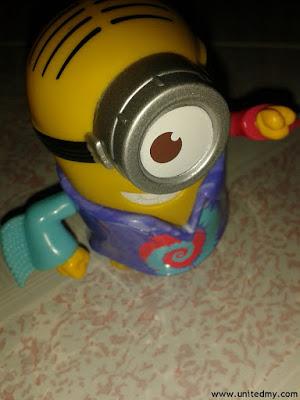Minion Toy 2015 McDonalds Malaysia