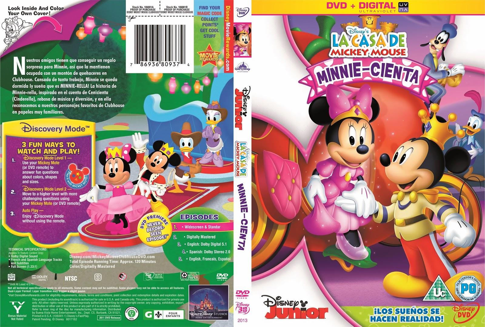 Movies world la casa de mickey mouse minnie cienta dvd - Mickey mouse minnie cienta ...