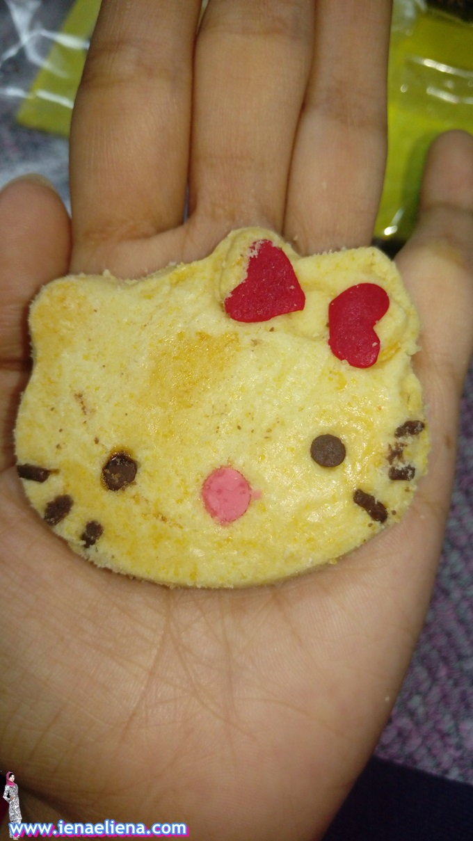 Homemade Biskut Hello Kitty