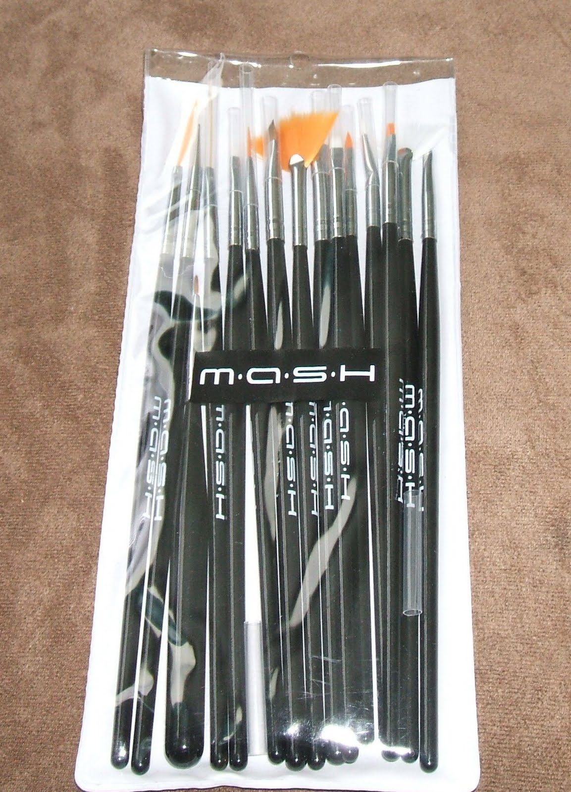 Latest free purchase ~ MASH Nail Art Brush Set - Refined and Polished