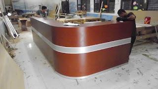 Desain Meja Customer Service Terbaru 2016 - Furniture Semarang