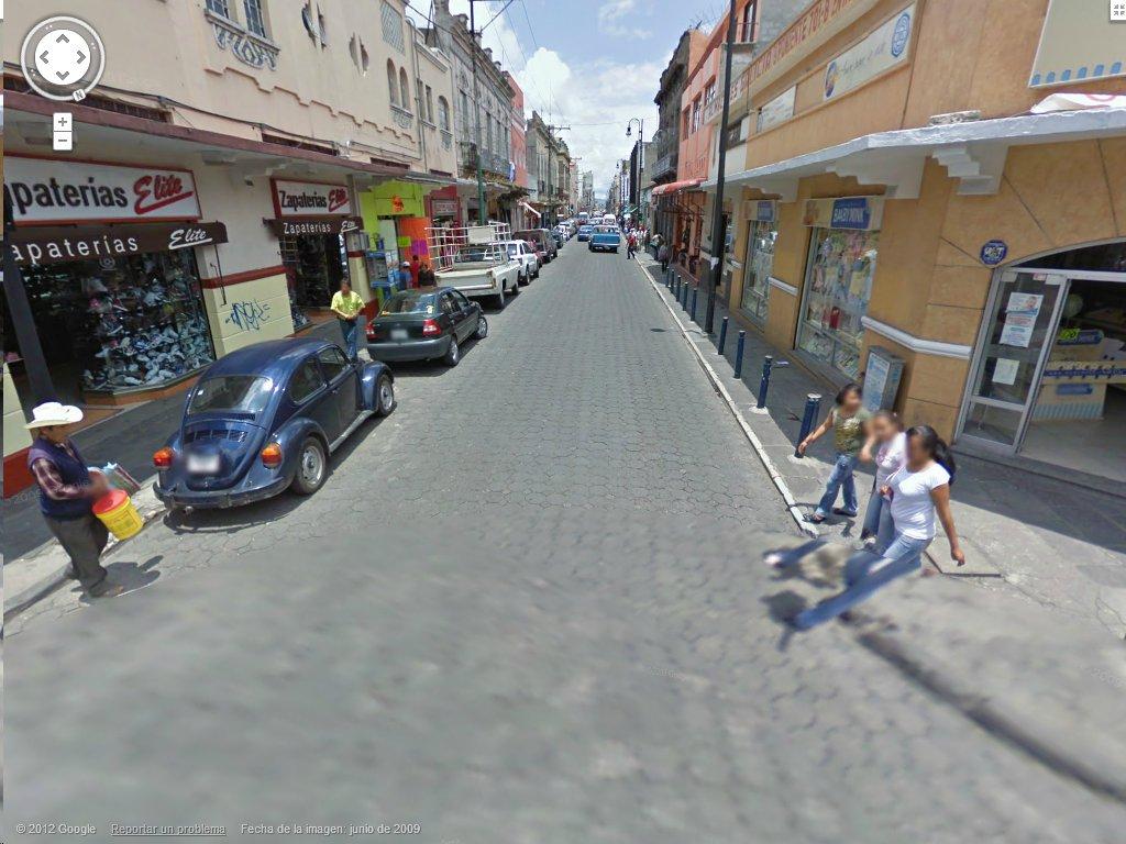 8 Poniente y 7 Norte, de las calles del centro de Puebla que serán restauradas