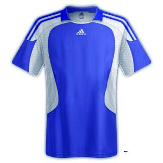 Desain kaos sepakbola warna biru - exnim.com