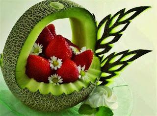 Fresas con melon